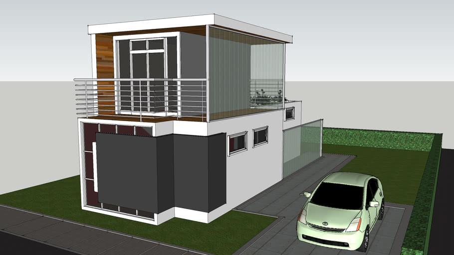 modern ecologic house