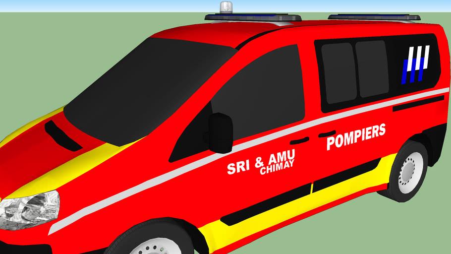 Fiat Scudo - Pompiers [Modèle de Base : Lau66]