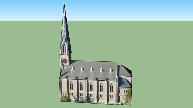Church on Weinbergstrasse, Switzerland
