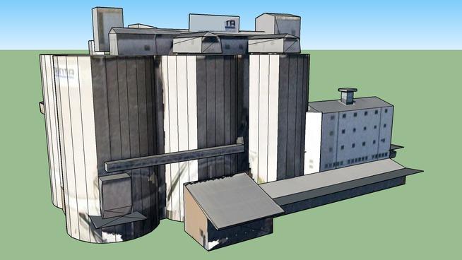 """Cementa"" factory in Stockholm, Sweden"