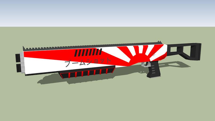 Karyoku Industries BoomShot Pump Action Shotgun - Prototype