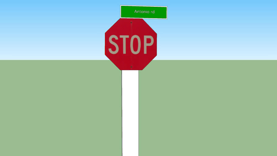 Stop Sign@ Antonio rd