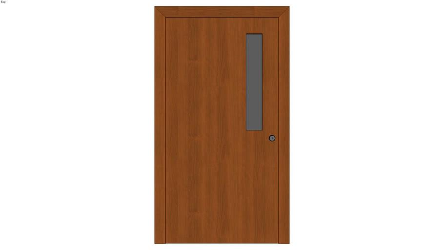 Exterior Door With Narrow Window