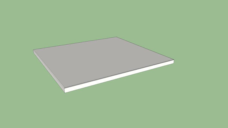 IKEA SPILDRA Cover plate 60x55