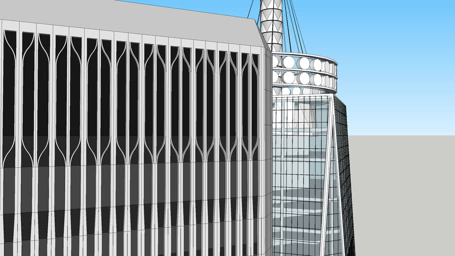 WTC Twin Towers Compared One WTC