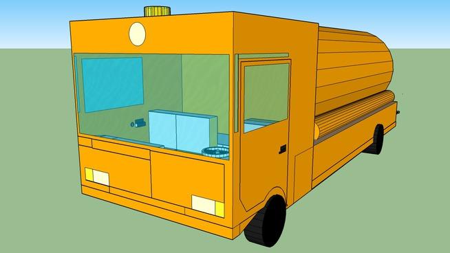 Truk for liquid transportation