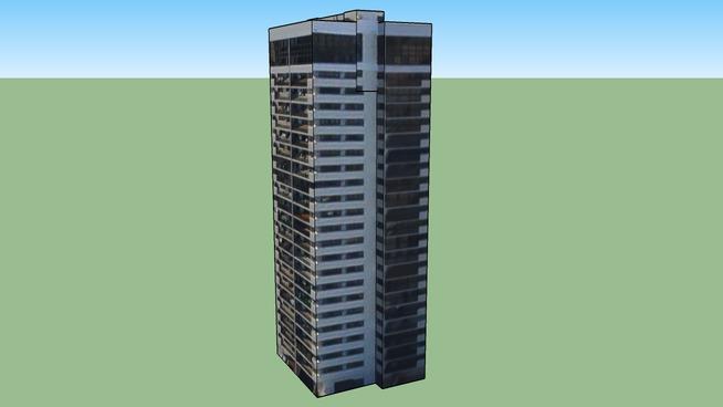 Budynek w: Honolulu, Hawaje, Stany Zjednoczone