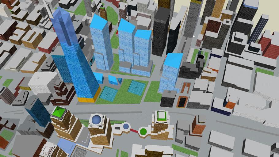 Manhattan Premier Projet Du New World Trade Center