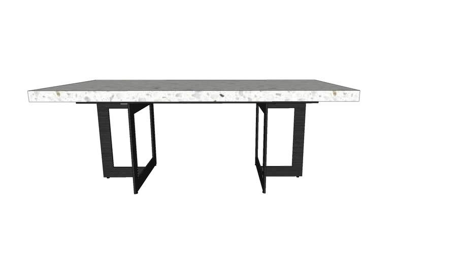 OWEN COFFEE TABLE TERRAZZO 120cm