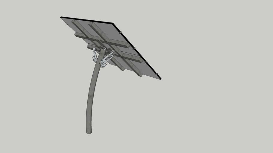 Sun tracking solar array