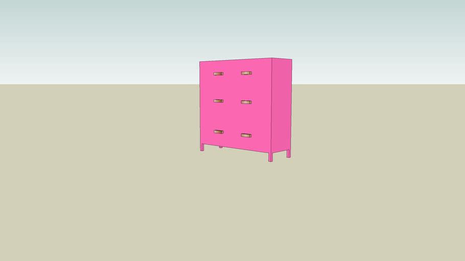 Dresser, Basic (Purple)