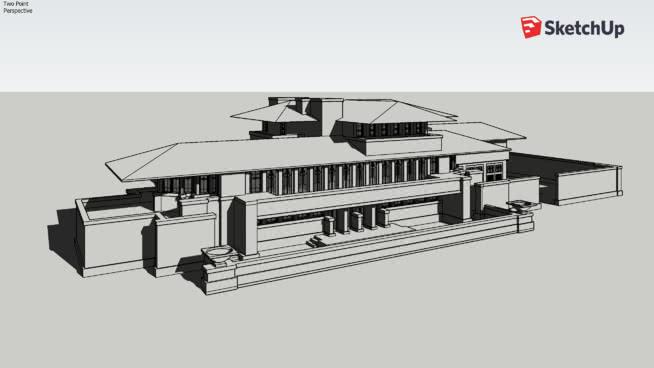 Robie House   3D Warehouse