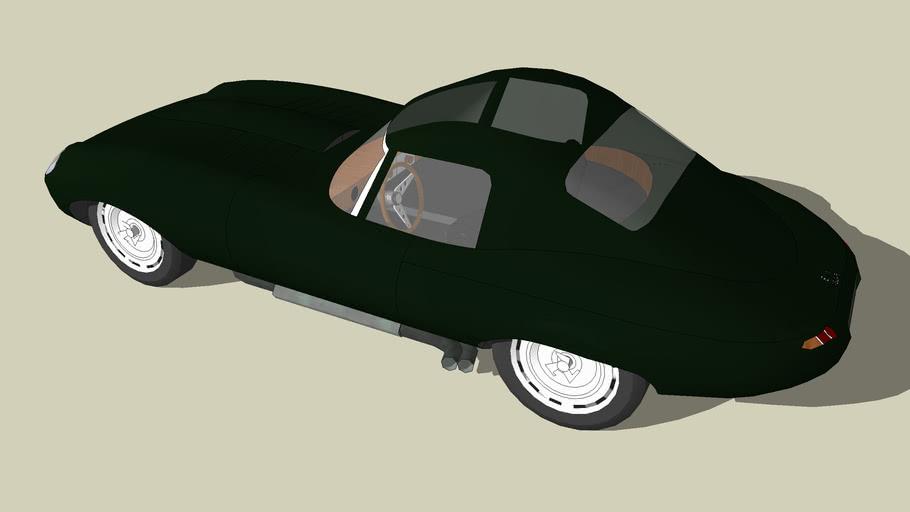 Jaguar E Type Low Drag Coupe