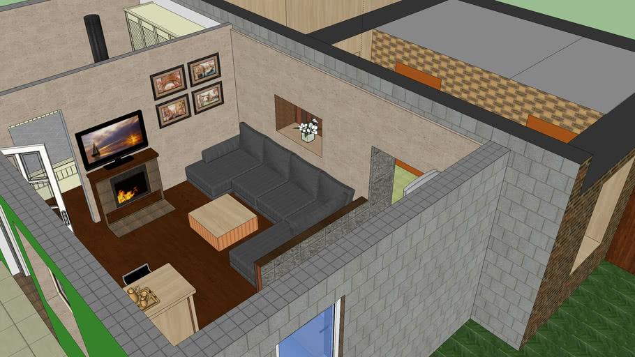 l..terv 2 lakás