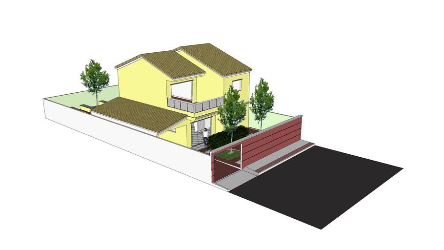 Casa duplex ampliada