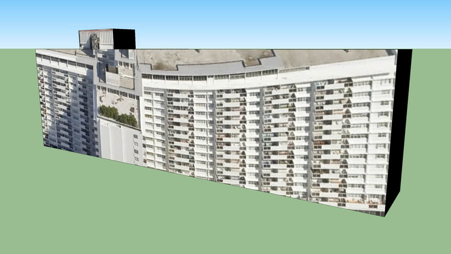 Building in Miami Beach, FL, USA