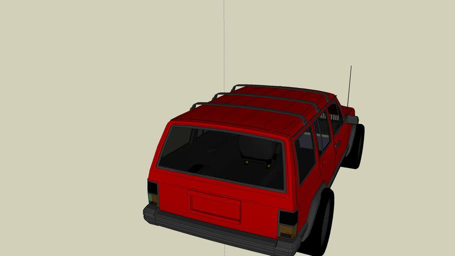 jeep drag racer