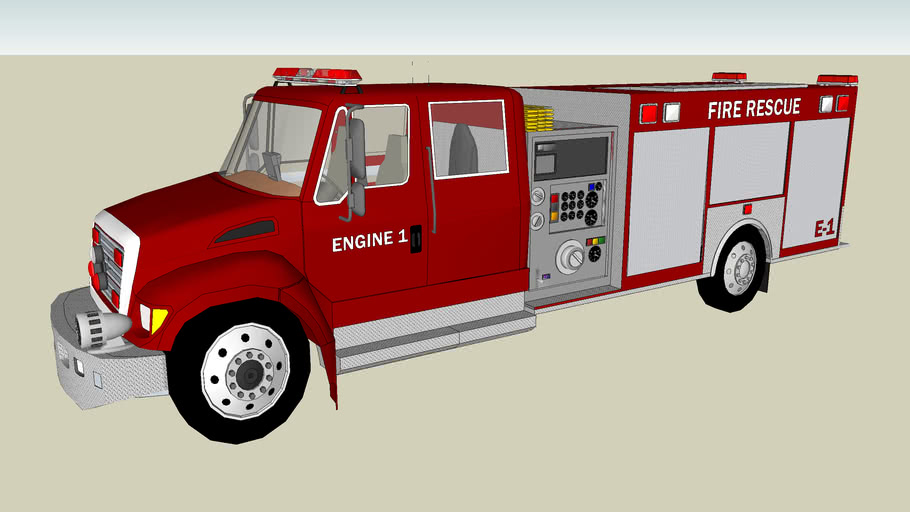 COMMERCIAL RESCUE PUMPER