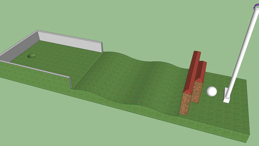 Sketchy Physics Golf Bahn 15