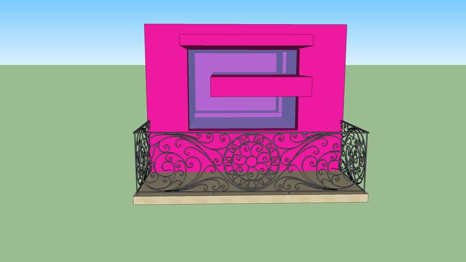 stylisch balkon
