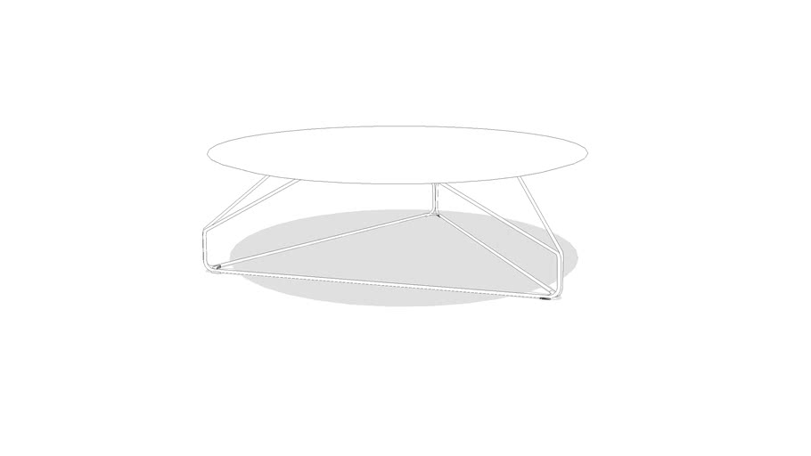 Herman Miller Polygon Wire Table_Round