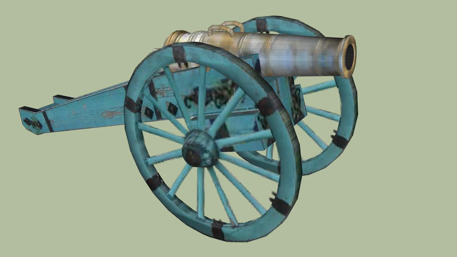 Kiev fortress. Cannon type 1