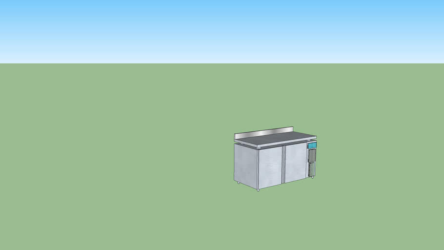 Undercounter Chiller / Freezer 2 Doors Thermacool with BS
