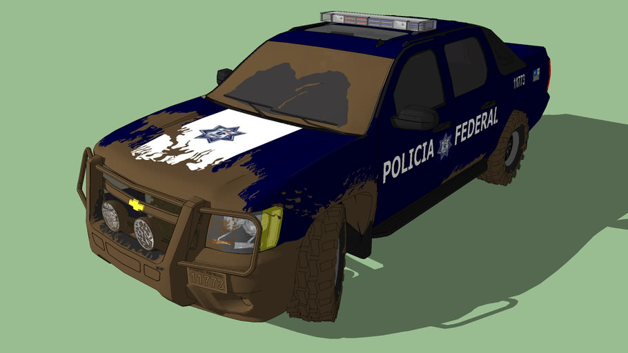 Policia Federal Chevrolet Avalanche