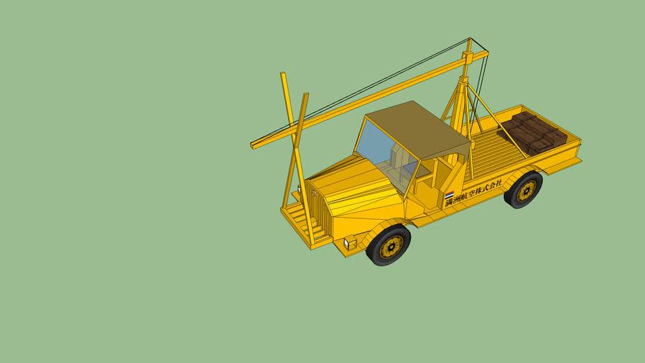 Toyoda Truck - Crane