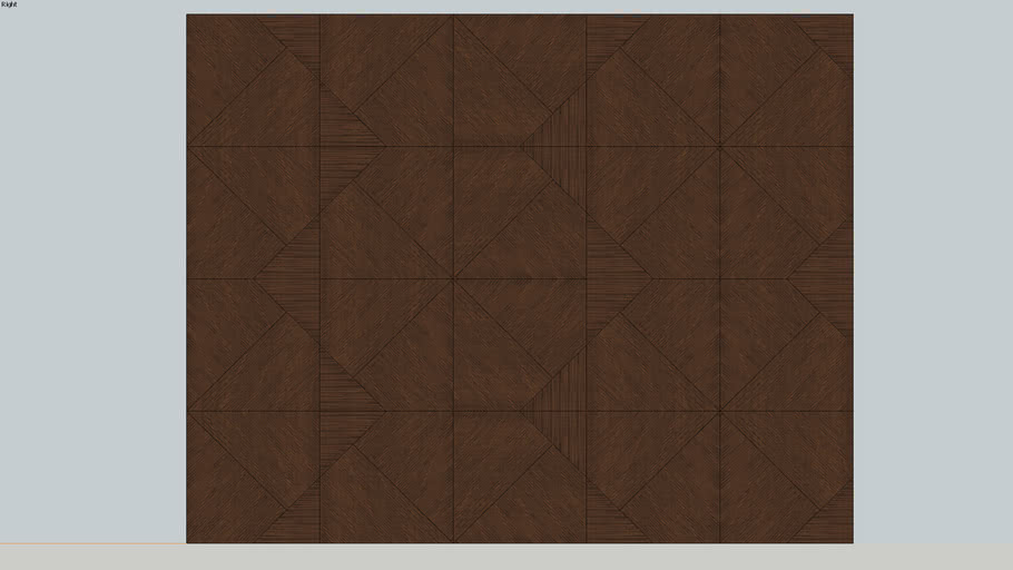 3D wall panel wooden