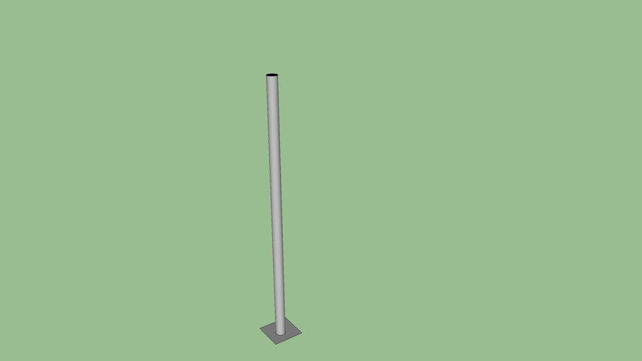 LG Productions 9ft pipe & base