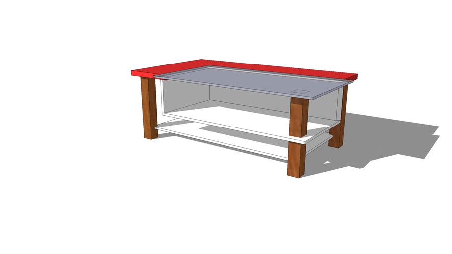 Tavolino Glass & Wood
