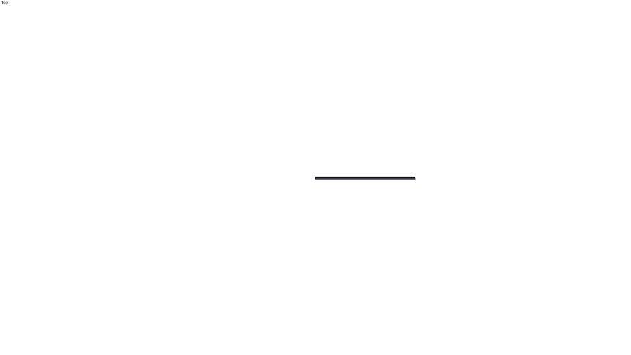 Perfil tirador puesto en repisa inferior de aluminio negro 833.02.686