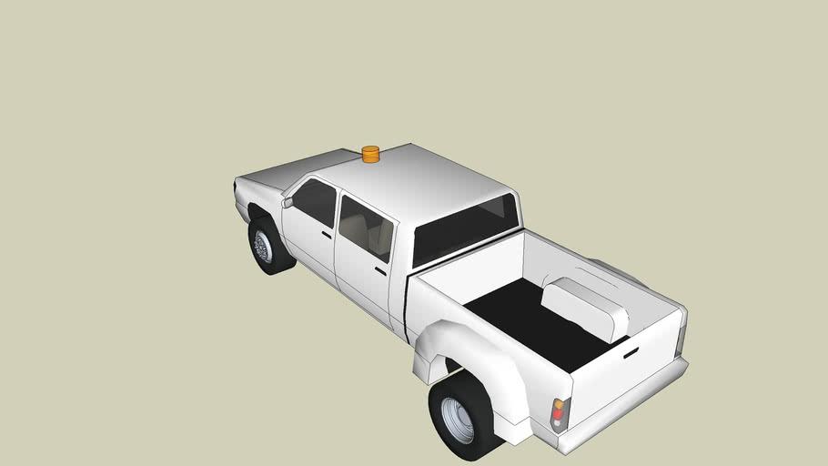 Airport Crewcab Security Truck