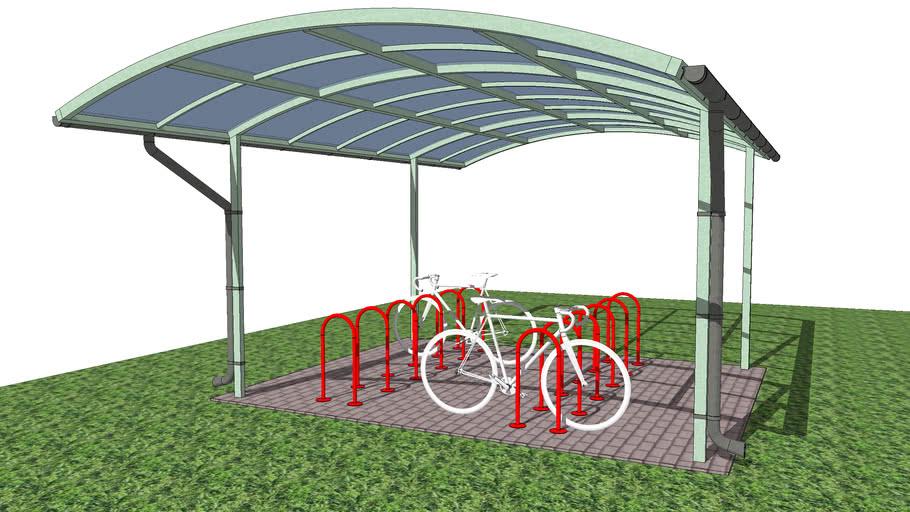 Массовая велопарковка Velo-12 / Mass bike rack, parking Velo-12