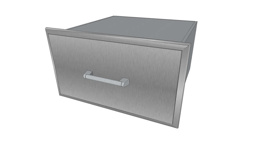 28' Storage Drawer - Coyote Outdoor Living, Inc.   3D ... on Coyote Outdoor Living Inc id=25956