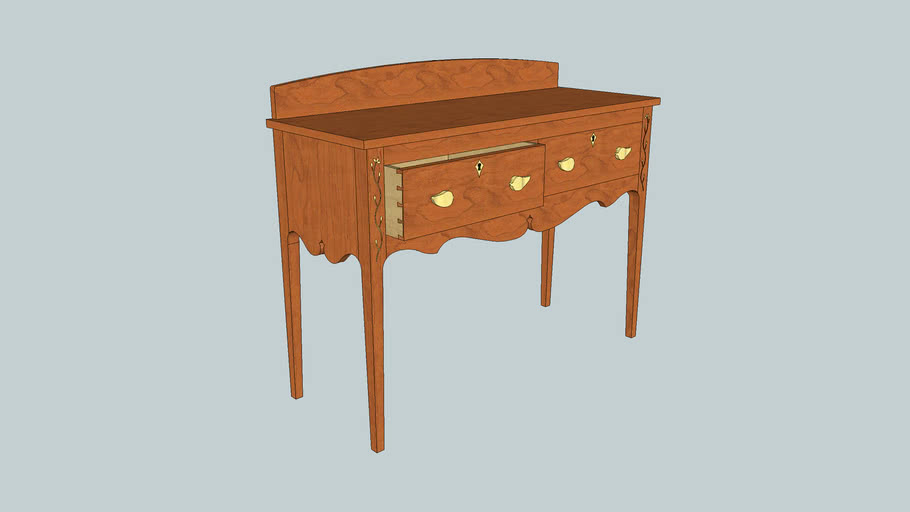 Kentucky Sideboard from Popular Woodworking Magazine February 2003 Issue