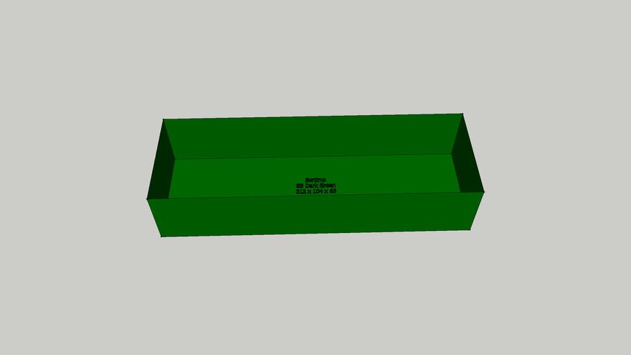 Sortimo Insert Boxx G3 Dark Green