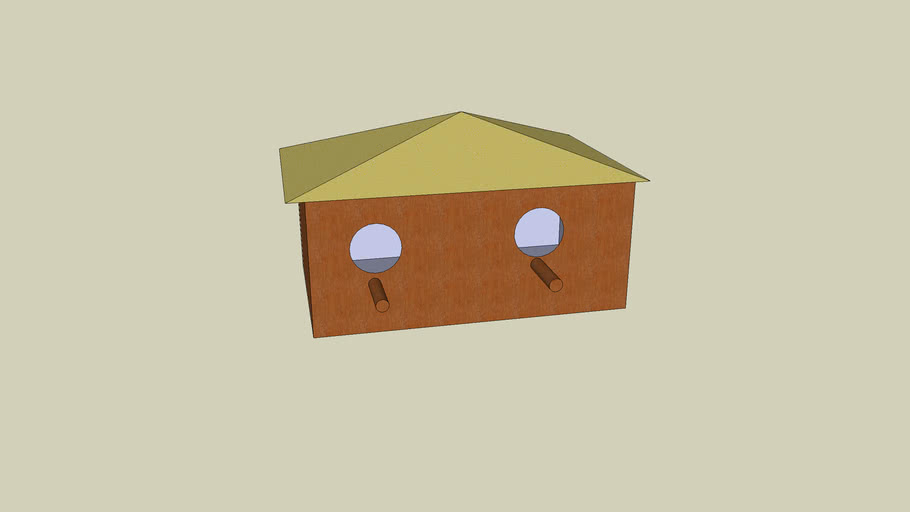 Double bird house