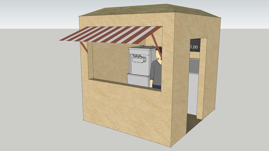 Ice Cream Shop for Sketchy Island