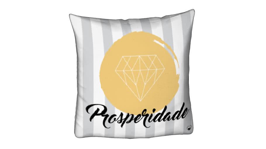 ALMOFADA PROSPERIDADE 50X50