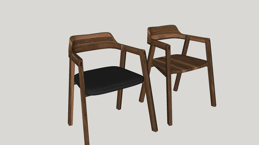 COLLAGE SCHOOL STUDY CHAIR VRAY 2 RENDER READY