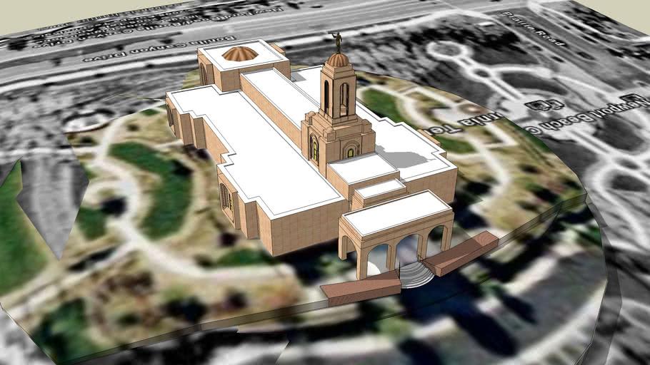 LDS. Temple  Newport Beach California ,Templo Mormon.122nd. Operating Temple.