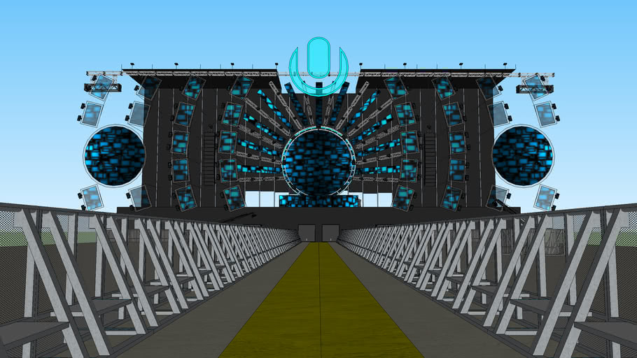 Ultra Music Festival 2014 Mainstage