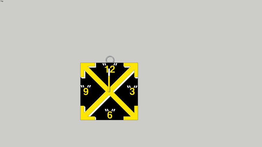 Off-White Clock
