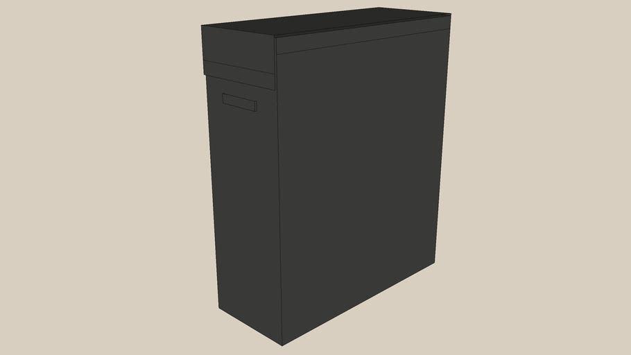SKUBB laundry bag black