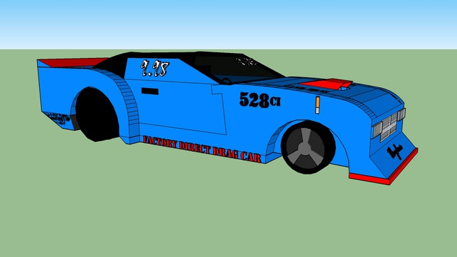 Car Factory Direct >> Factory Direct Drag Car Contest 3d Warehouse