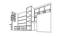 Diseño mueble estudio