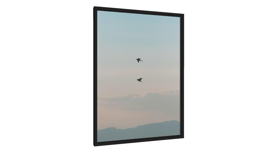 Quadro O último revoar das aves - Galeria9, por Daniel Lima