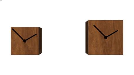 relógio quadrado